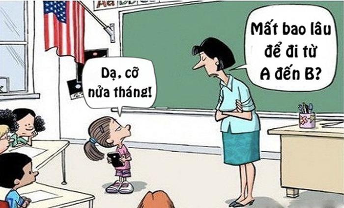 Truyện cười về thầy cô số 8