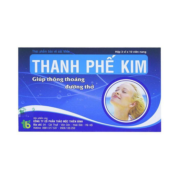 Viên Uống Bổ Phế, Giảm Ho Thanh Phế Kim