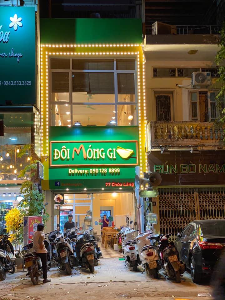 Bún Bung Móng Giò  - Doimonggio