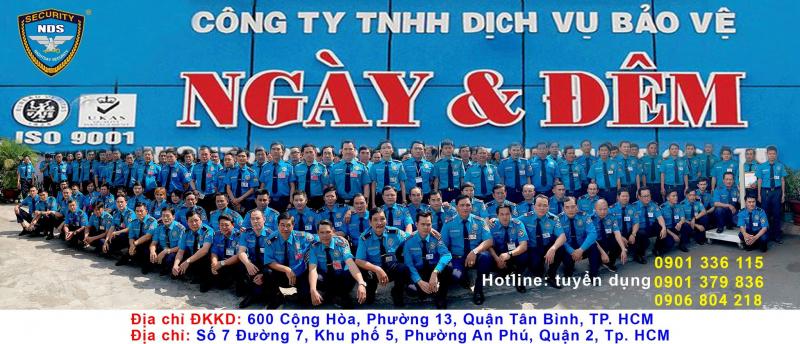 Công ty TNHH DV Bảo vệ Ngày & Đêm