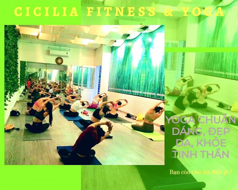 Đ-H GYM Quận 4 - Cicilia Fitness & Yoga