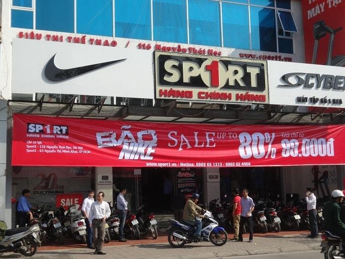 Hệ thống cửa hàng Sport 1