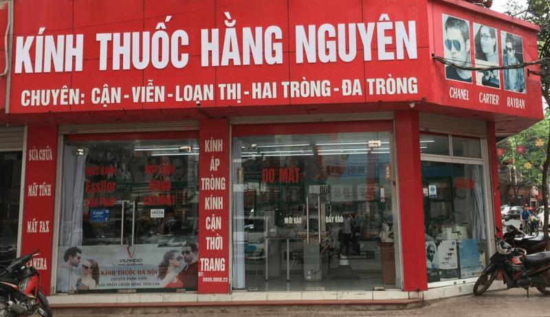 Kính thuốc Hằng Nguyễn
