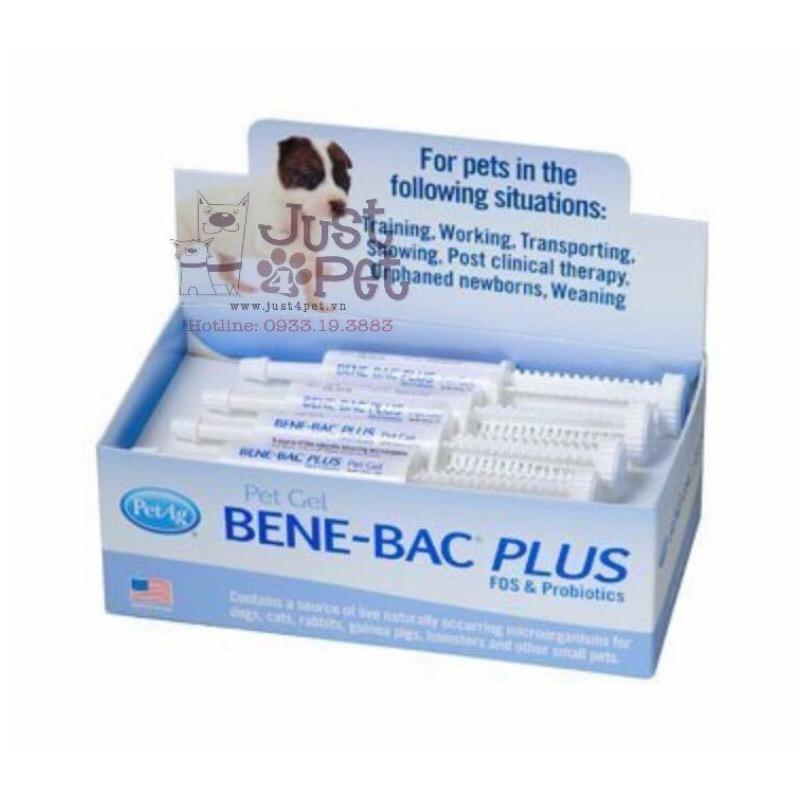 Men vi sinh hỗ trợ tiêu hóa Bene-Bac Plus cho chó mèo