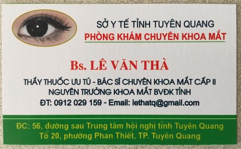Phòng khám chuyên khoa mắt, kính mắt 56
