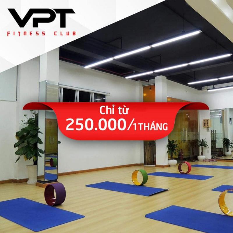 Phòng tập gym VPT Fitness - Yoga