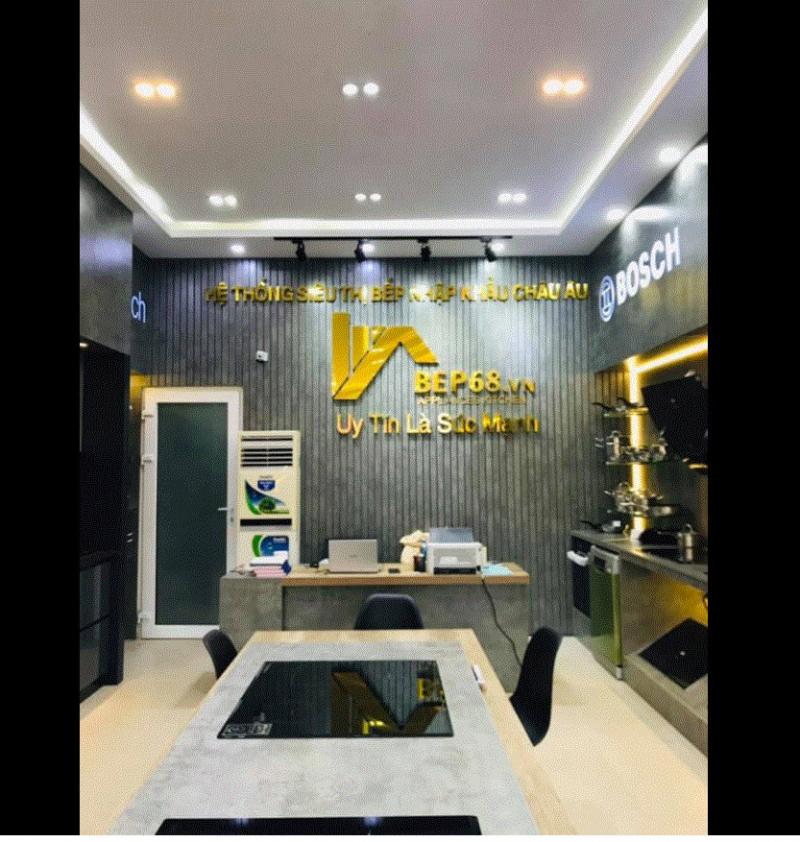 Siêu thị bếp nhập khẩu Bếp 68 chi nhánh Đà Nẵng
