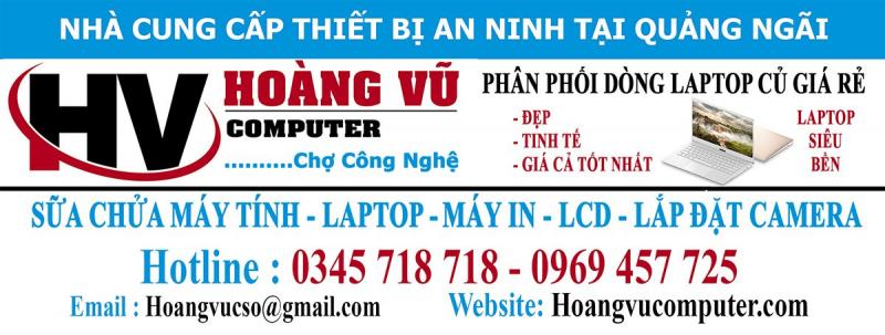 Trung tâm sửa chữa máy tính Hoàng Vũ