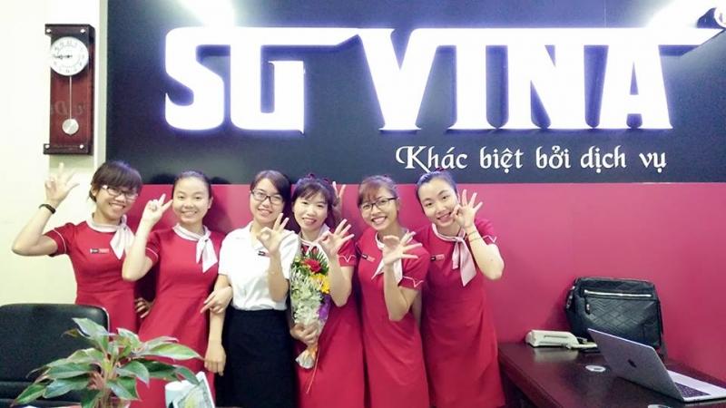 Trung tâm tiếng Anh Sài Gòn Vina