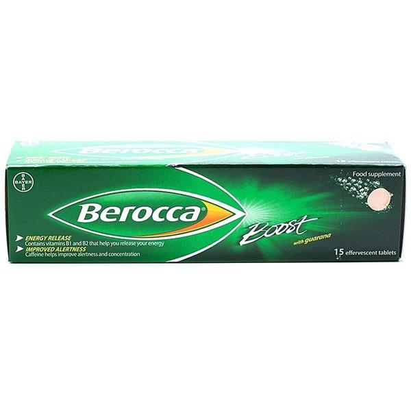 Viên sủi bổ sung Vitamin Berocca Boost