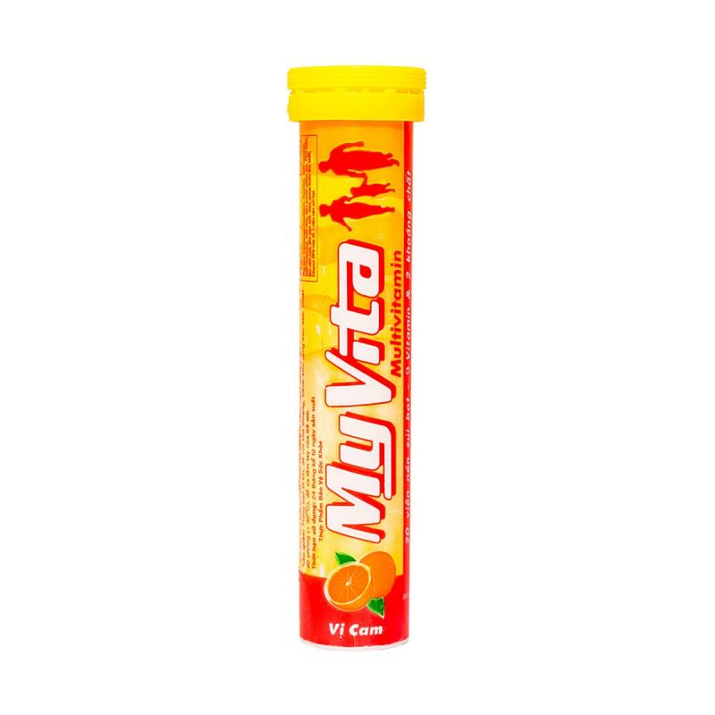 Viên sủi bổ sung Vitamin Myvita Multivitamin vị cam