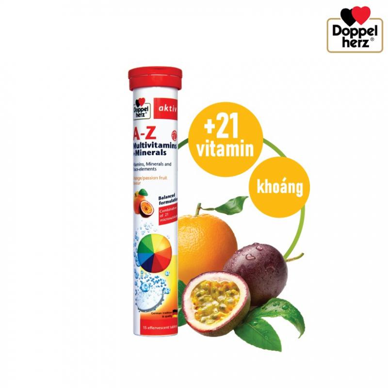 Viên sủi bổ sung vitamin Aktiv A-Z Multivitamin