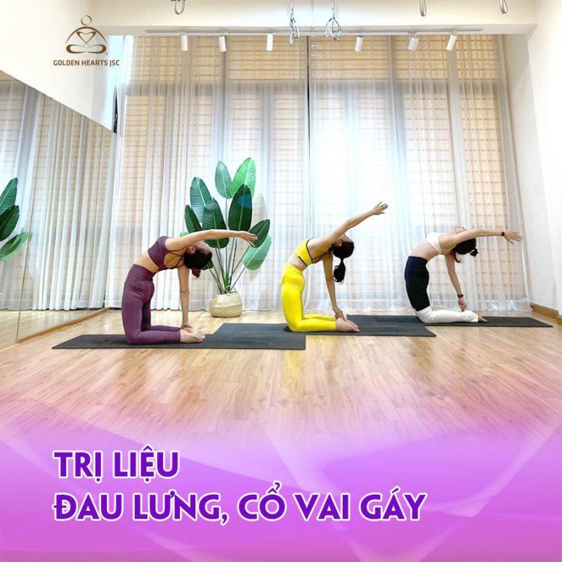 Yoga và Thiền Trái Tim Vàng Vĩnh Phúc