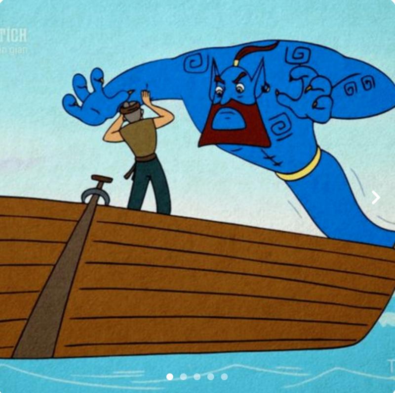 Bác đánh cá và gã hung thần