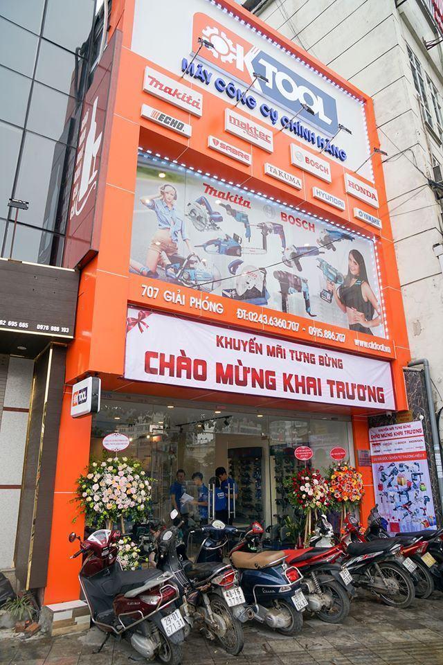 Công ty cổ phẩn điện máy OKTOOL Việt Nam