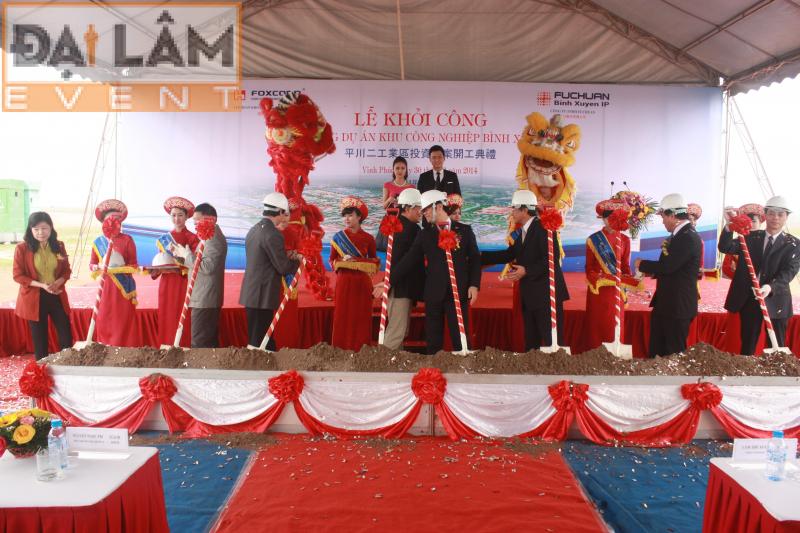 Công ty tổ chức sự kiện Đại Lâm