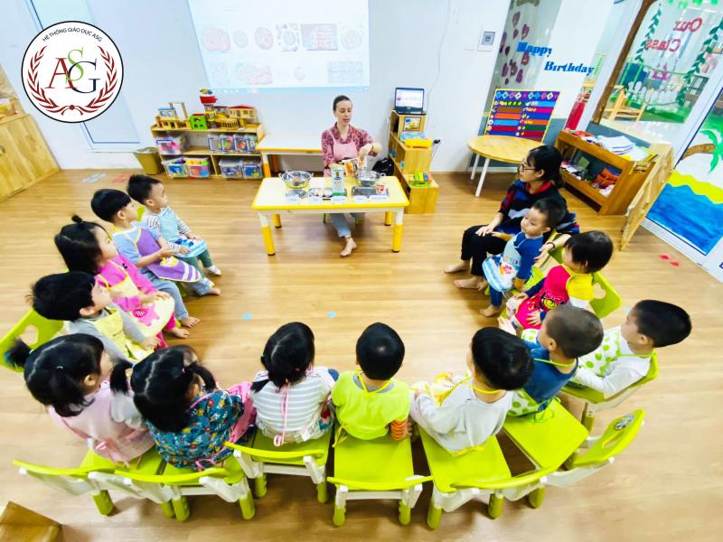 Hệ thống mầm non American School-ASG