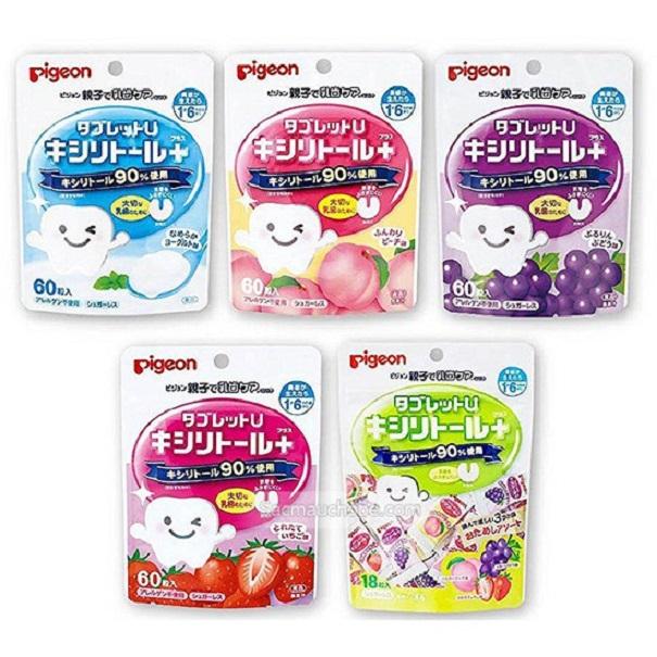 Kẹo chống sâu răng Pigeon của Nhật