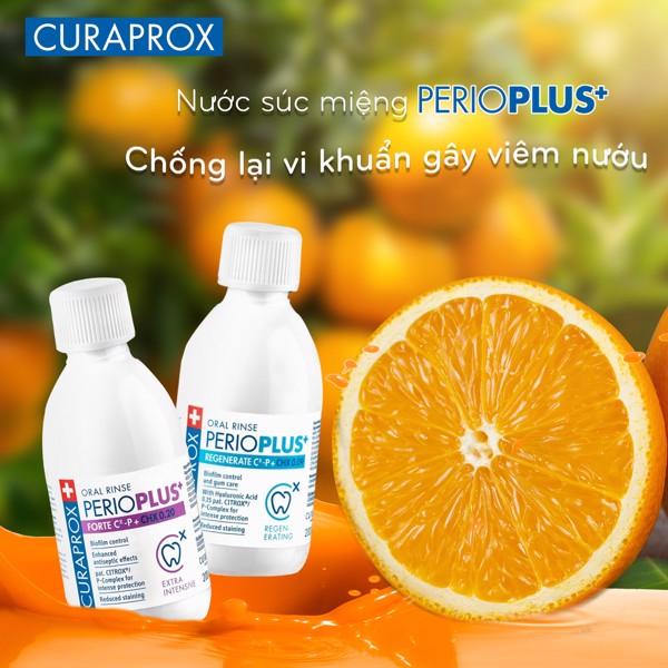 Nước súc miệng ngừa viêm nướu Perio Plus+ CHX 020