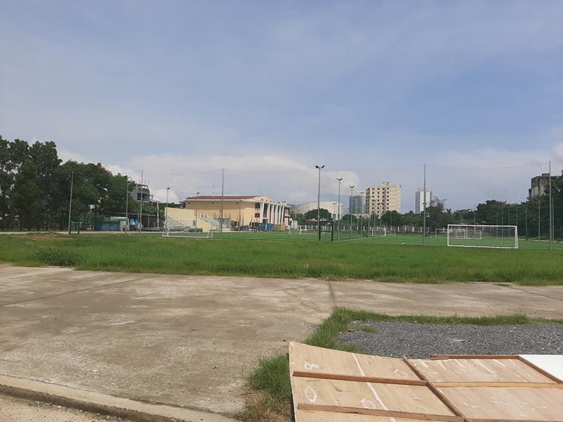 Sân bóng đá - Trung tâm văn hóa thể thao quận Sơn Trà