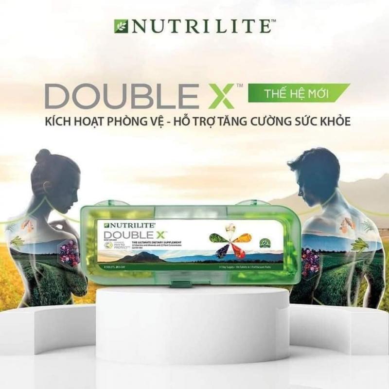 Thực phẩm bảo vệ sức khỏe NUTRILITE Double X