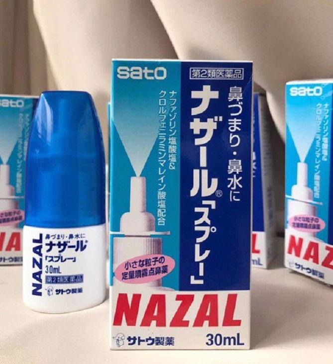 Thuốc xịt trị mũi xoang Nazal của Nhật