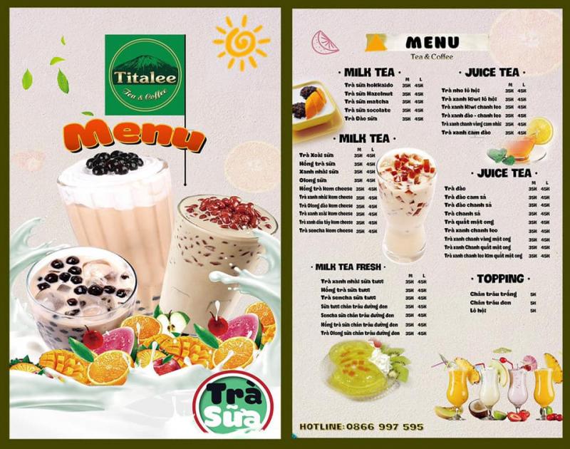 Titalee - Trà Sữa & Coffee - Lạc Long Quân