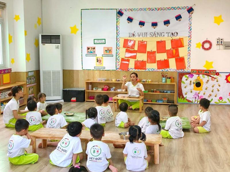 Trường Mầm Non Việt Đức - Gò Vấp