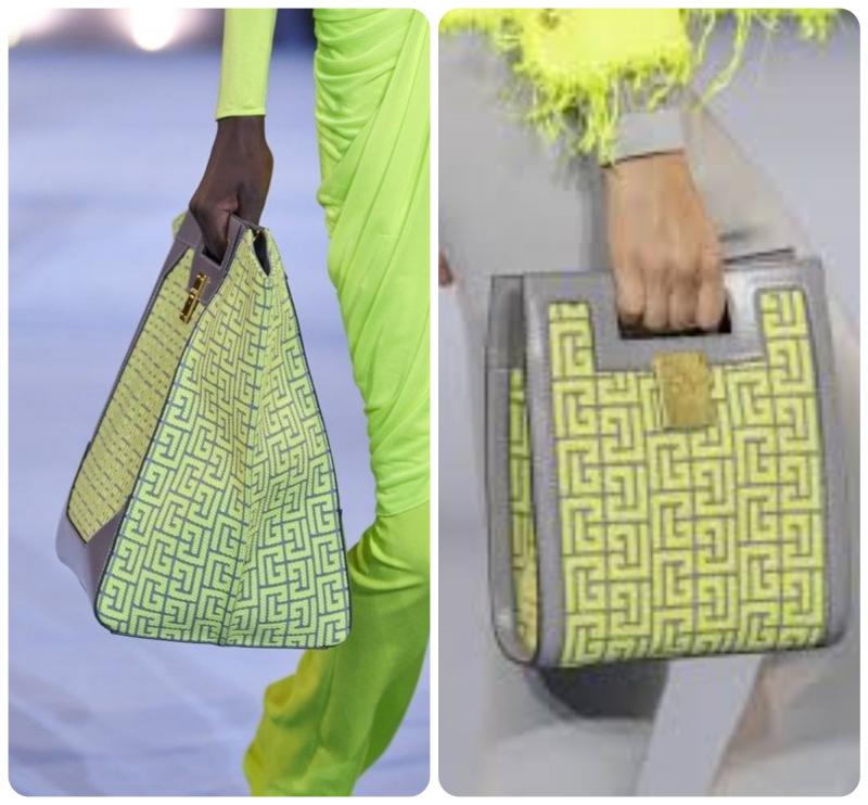 Túi với gam màu sặc sỡ
