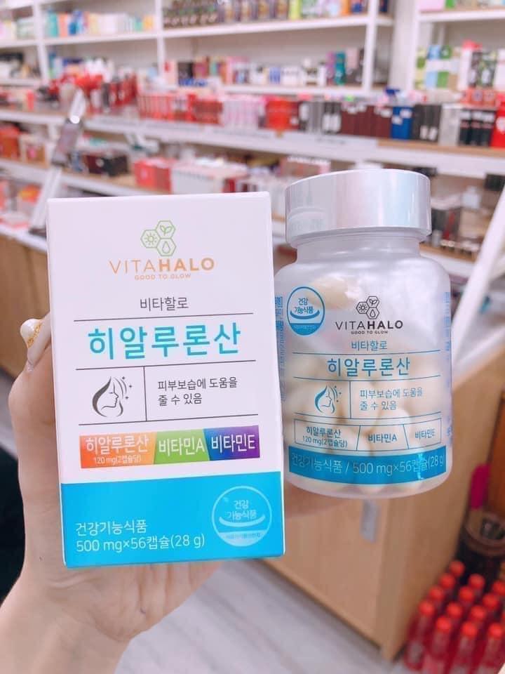 Viên Uống Cấp Nước Cho Da Vitahalo