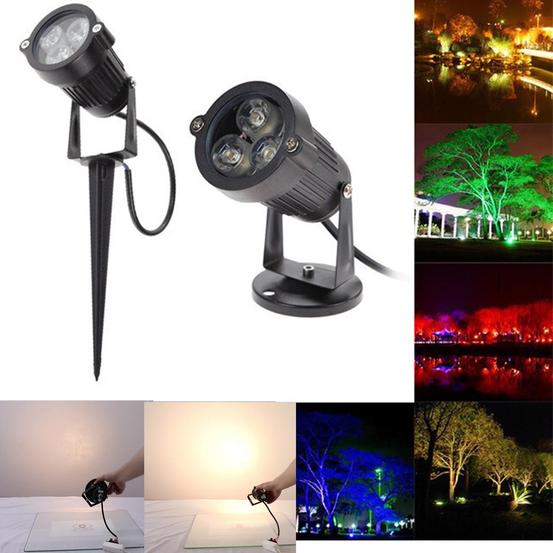 Ứng dụng của đèn LED cắm cỏ