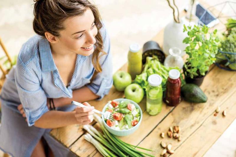 Ăn nhiều thực phẩm mạnh khỏe tốt cho quá trình trao đổi chất