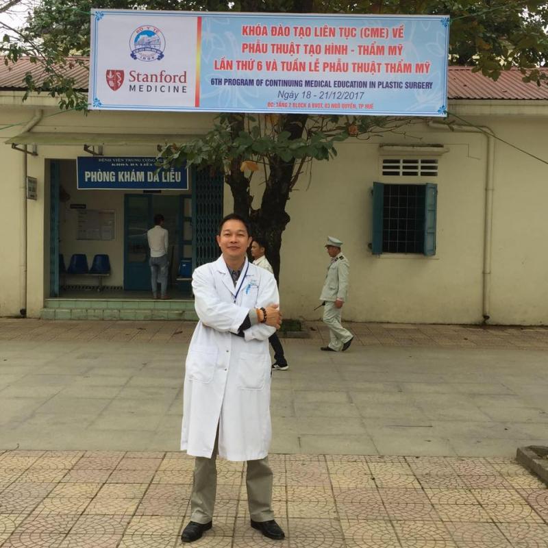 Bác sĩ Dương Hữu Thành (Chuyên khoa II Da Liễu)