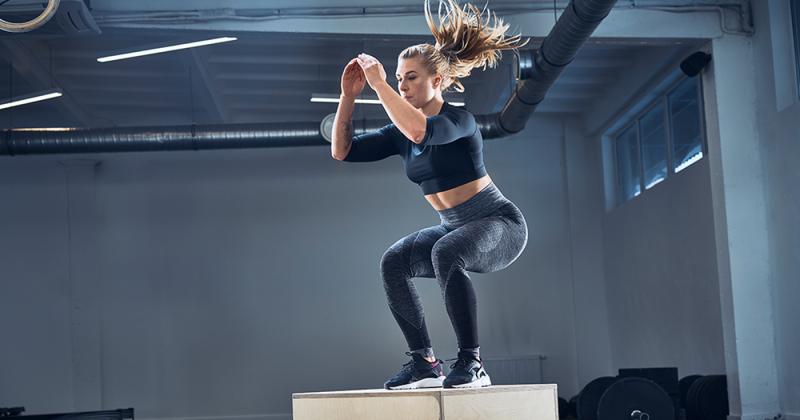 Bài tập Box jump