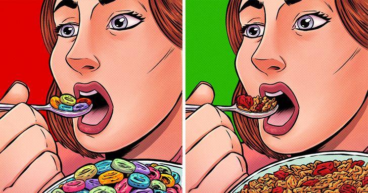Bạn ẩm thực không đúng cách