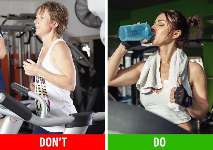 Bạn không uống đủ nước
