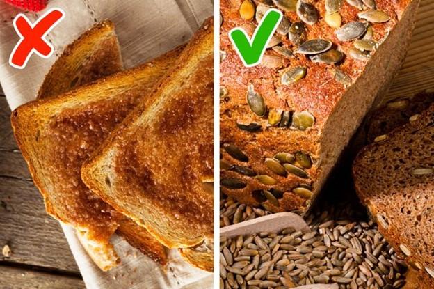 Bánh mì trắng nướng