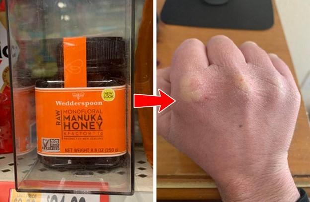 Bôi mật ong nguyên chất