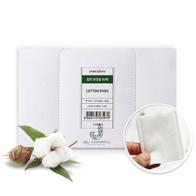 Bông Tẩy Trang Hữu Cơ Innisfree Eco Beauty Tool Organic Cotton Pads