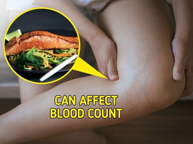 Cá hồi có thể gây loãng máu