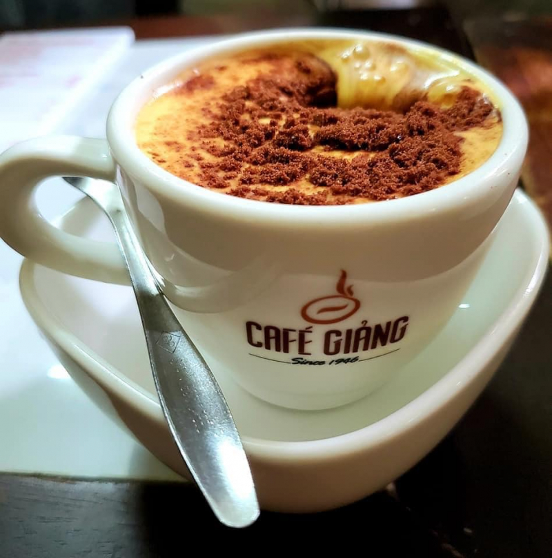 Cacao Trứng - Giảng Cafe