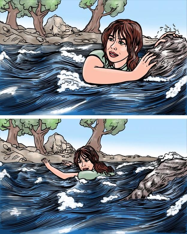 Cách sống sót khi rơi xuống ghềnh nước