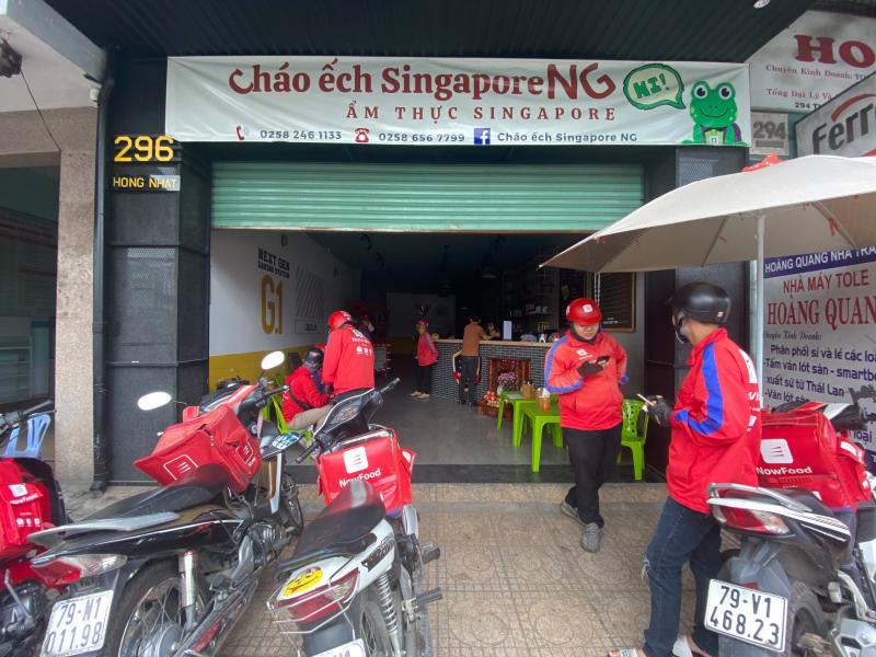 Cháo ếch Singapore NG Thống Nhất