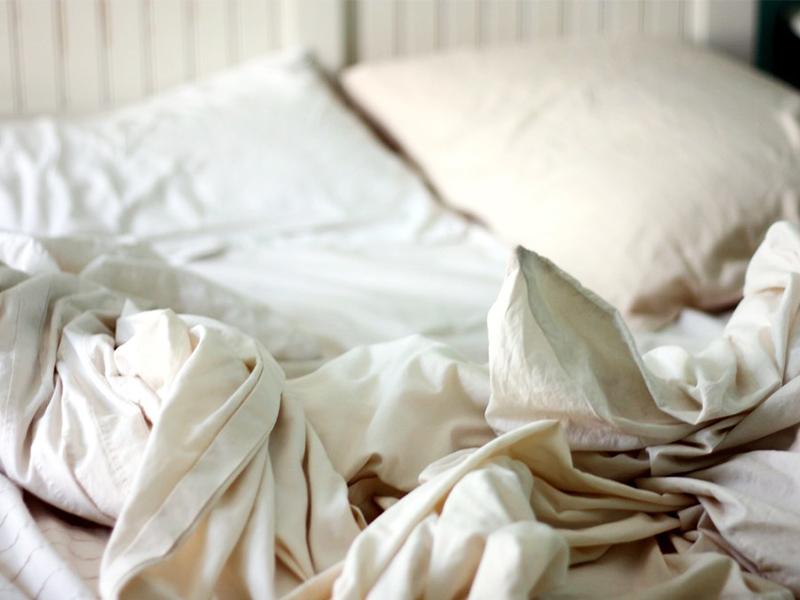 Chiếc giường là nơi ẩn núp của vi khuẩn