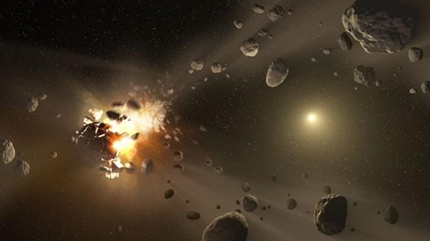 Có không dưới 15000 tiểu hành tinh lớn trong không gian gần Trái Đất