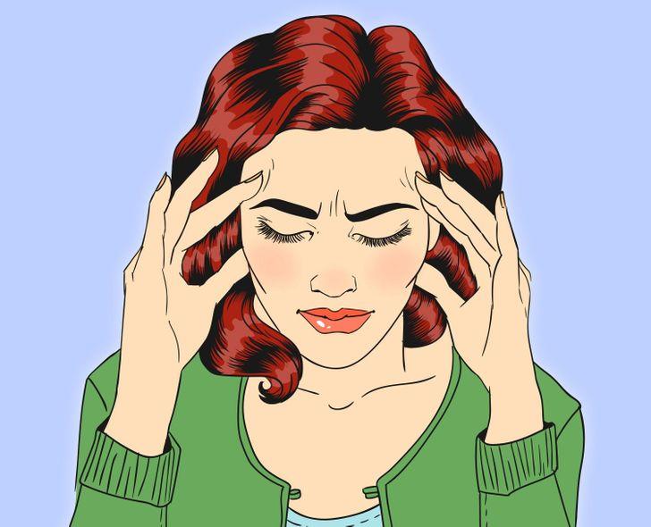 Có thể gây đau đầu kinh niên