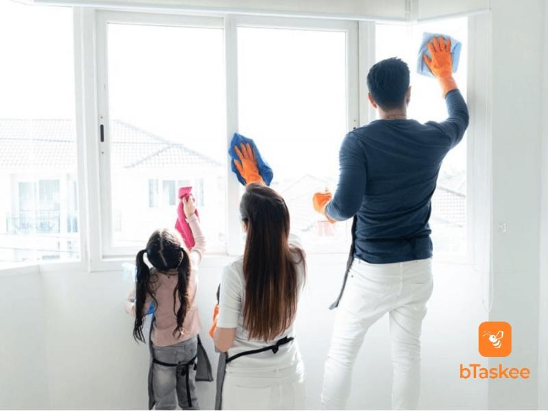 Cùng nhau chia sẻ công việc nhà