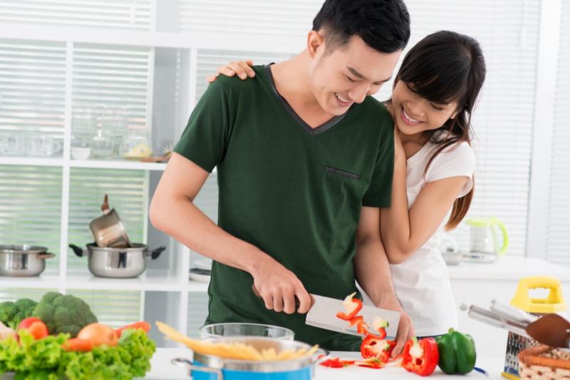Cùng nhau nấu và ăn uống