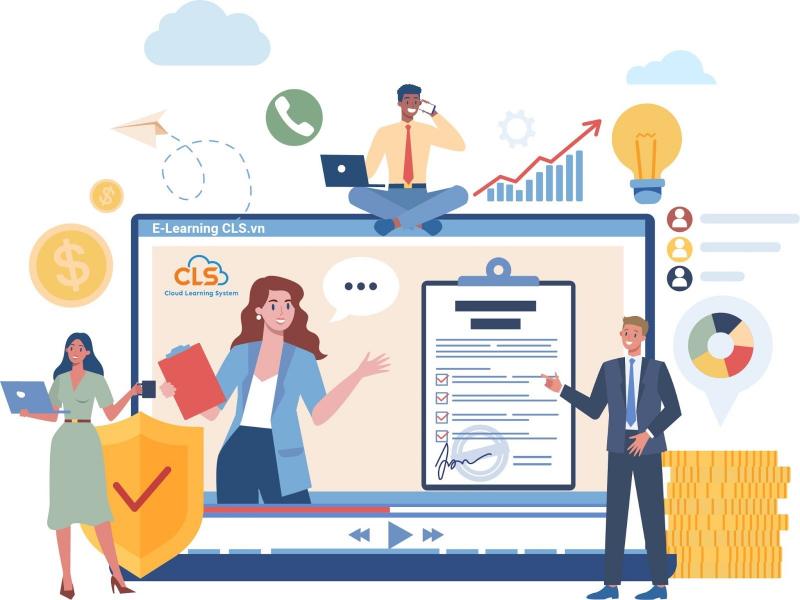 Đào tạo trực tuyến E-Learning cho ngành bảo hiểm
