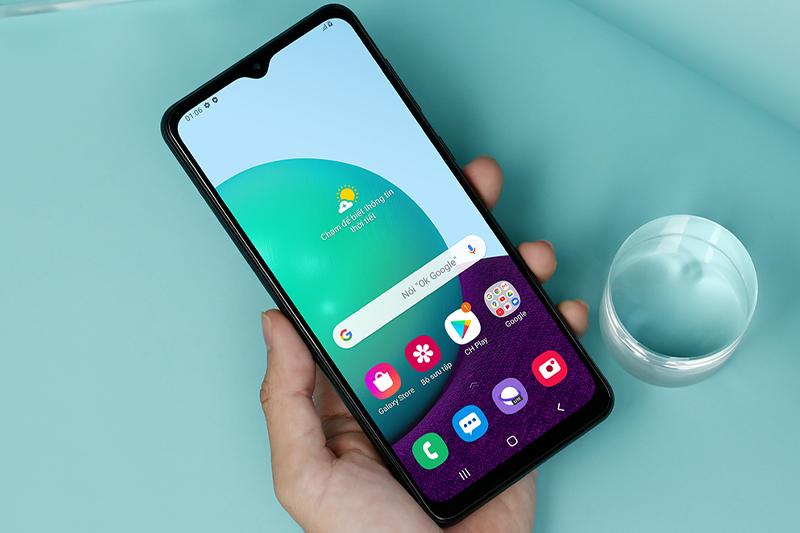 Điện thoại Samsung Galaxy A02
